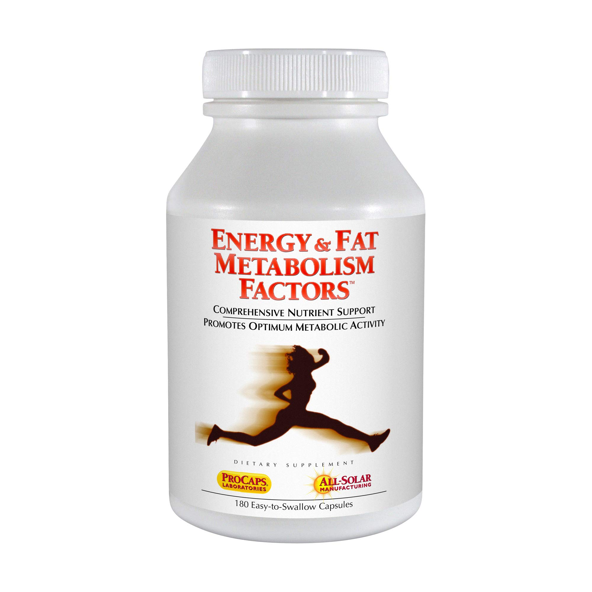 Andrew Lessman Energy & Fat Metabolism Factors, 180 Capsules