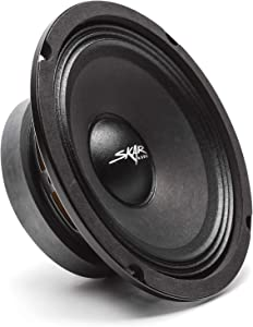 "Skar Audio FSX65-8 6.5"" 300 Watt 8 Ohm Pro Audio Midrange Loudspeaker, Each"