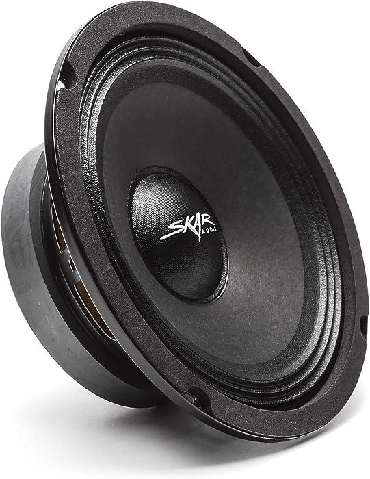 "Skar Audio FSX65-4 6.5"" 300 Watt 4 Ohm Pro Audio Midrange Loudspeaker, Each"