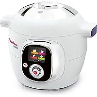 Multicuiseur Intelligent Moulinex Cookeo CE7011 - Cuisson rapide sous pression - Cuve 6L pour 1 à 6 personnes - 50 recettes  pré-programmées