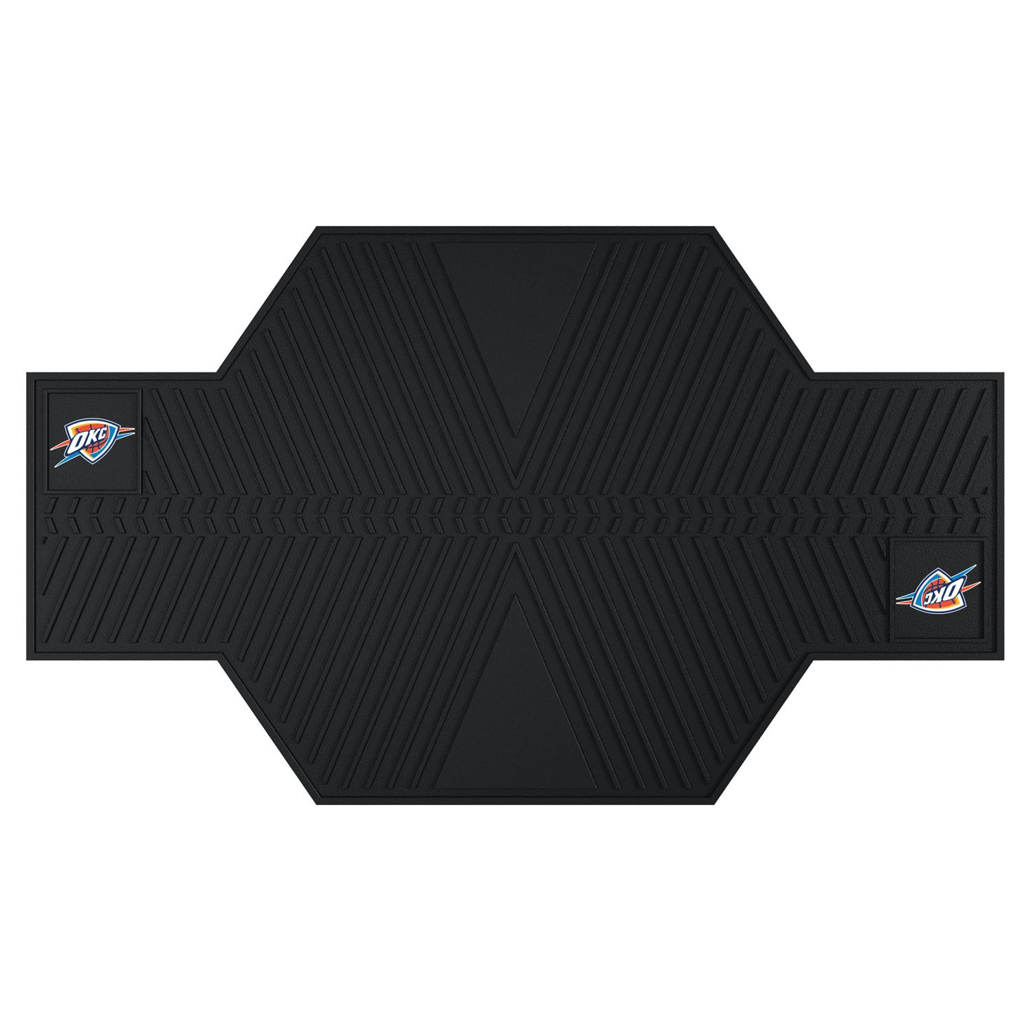 NBA Motorcycle Mat (Oklahoma City Thunder) (5/16''H x 42''W x 82 1/2''D)