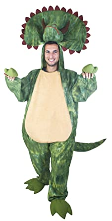 Adult Triceratops Costume (Size Standard 44)  sc 1 st  Amazon.com & Amazon.com: Adult Triceratops Costume (Size: Standard 44): Clothing