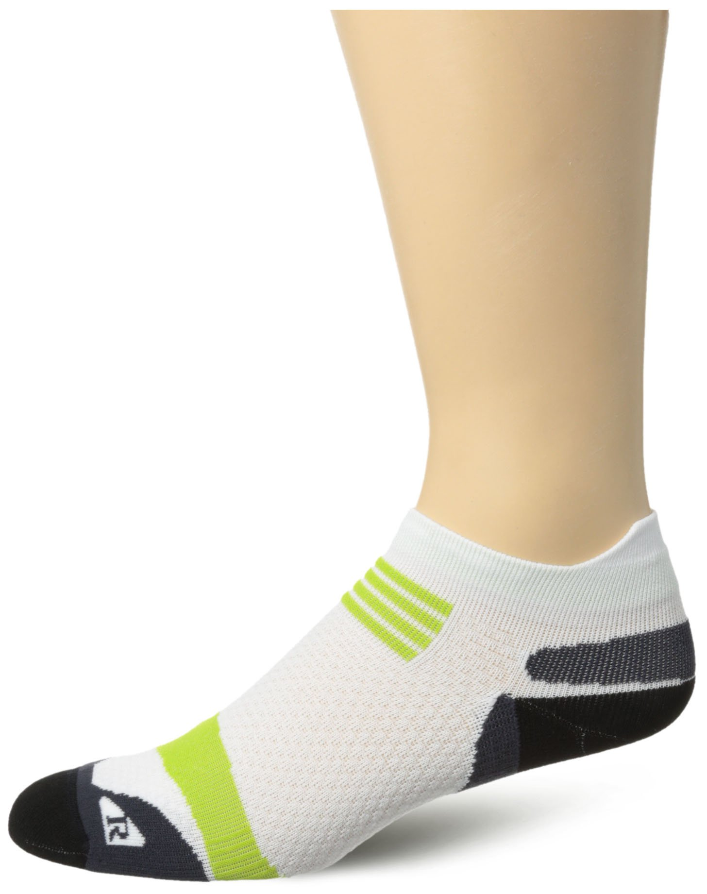 ASICS Kayano Single Tab Sock, White, X-Small by ASICS