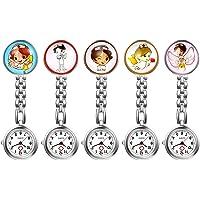 LANCARDO Reloj de Bolsillo Médico Colgante de Enfermera