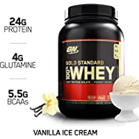 Optimum Nutrition 100% Whey Gold Standard, Vainilla 2 lb