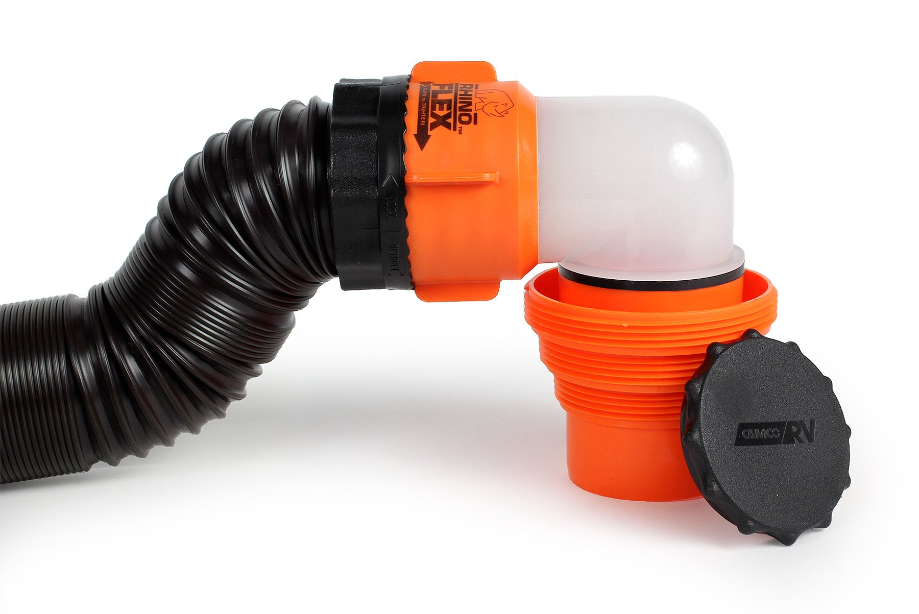 Camco rhinoflex ft rv sewer hose kit includes swivel