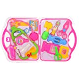 Higadget Doctor Play Set for Kids, pink