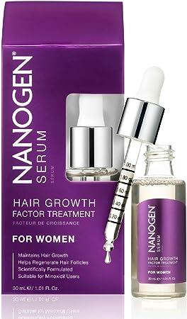 Suero Tratamiento Factor de Crecimiento Nanogen para la Mujer, 1er Pack (1 x 30 ml): Amazon.es: Belleza