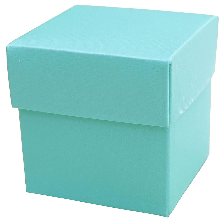 Amazon.com: Mini Square 2x2x2 Wedding Bridal Shower Favor Box with ...