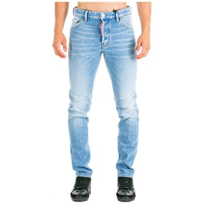 DSQUARED2 Light Weird Super Fade Wash Cool Guy Jeans: Clothing