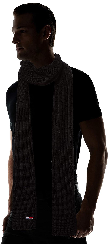 Hat /& Glove Set Tommy Hilfiger Mens TJM Basic Rib Scarf /& Beanie Gp Scarf
