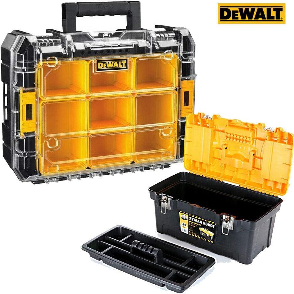 Dewalt DWST1-71194 Tstak - Caja organizadora apilable para 7 tazas y caja de herramientas de 19 pulgadas: Amazon.es: Bricolaje y herramientas