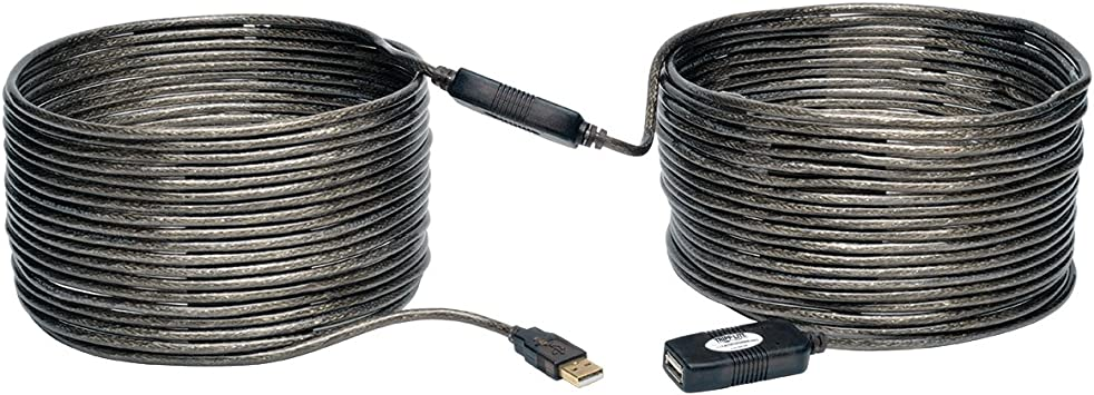 TRIPP LITE U026-10M 10M USB2.0  Active Repeater Extension Cable 16/' 16-feet