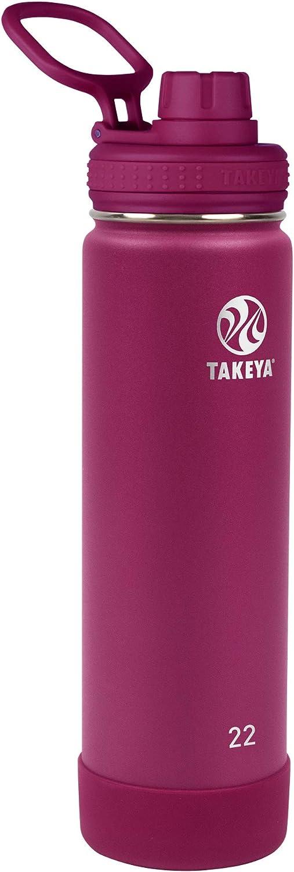 Takeya Stainless Steel Bottle, 22 Oz
