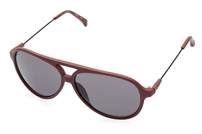 5d96217eadb Image Unavailable. Image not available for. Colour  Calvin Klein Jeans  Aviator Sunglasses (Red) ...