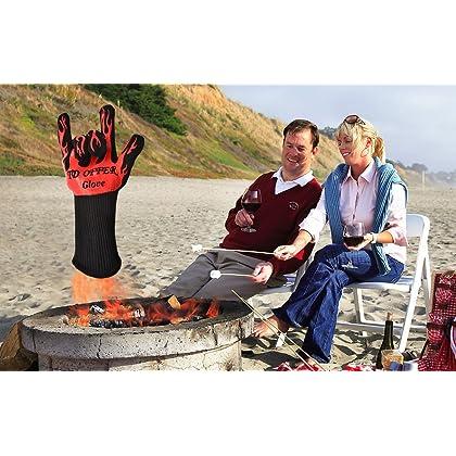 Cooking Gloves Extreme Heat Resistant EN407,Hot Surface Handler 2 Glove
