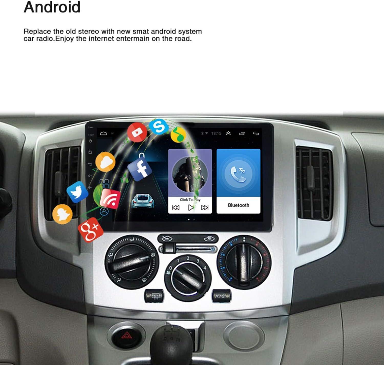TaoToa 10.1 Pulgadas Android 8.1 Quad Core 2 DIN Car Press Stereo Radio GPS WiFi Mp5 Player Us