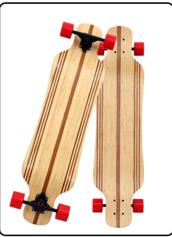 メープルスケートボード経験豊富なスケータースケート大人の女の子男の子117 * 24.5センチメープル木製スクールデッキプロの大人子供子供丈夫初心者ダンス  B B07MPQKGVC