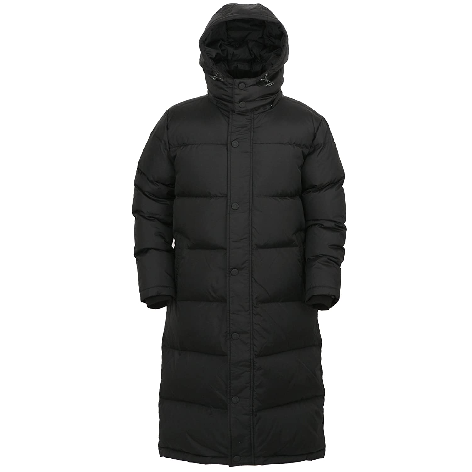 myglory77mall Black Winter Outer Duck Down Long Coat Parka Puffer jacket KH905
