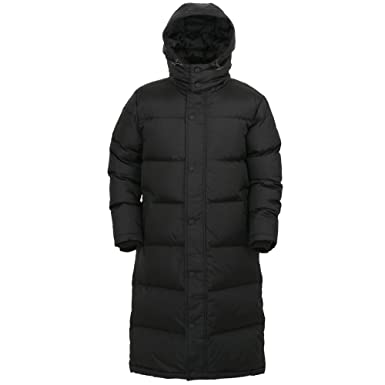 51b6c8db941 myglory77mall Black Winter Outer Duck Down Long Coat Parka Puffer Jacket US  XXS(85)