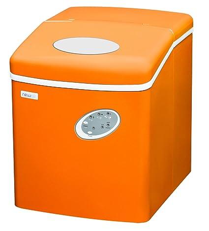 NewAir AI 100VO Portable Ice Maker, Orange