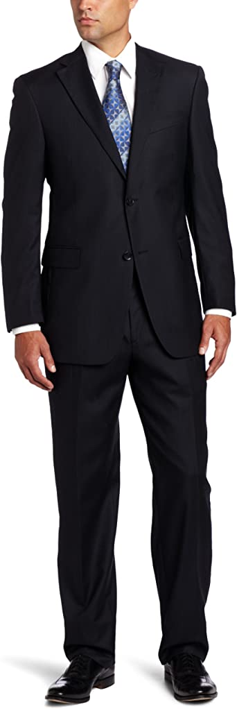 Austin Reed Men S Signature Two Piece Suit Black 40 S At Amazon Men S Clothing Store Business Suit Pants Sets