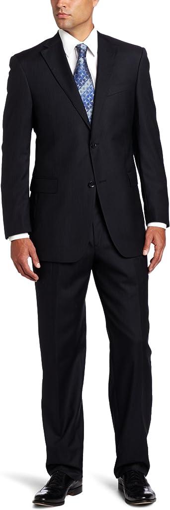Austin Reed Men S Signature Two Piece Suit Black 40 S At Amazon Men S Clothing Store Business Suit Pants Sets