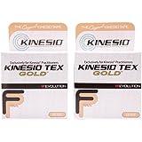 "Kinesio Tex Gold FP Tape - Beige - 2"" x 16.4' - Pack of 2"