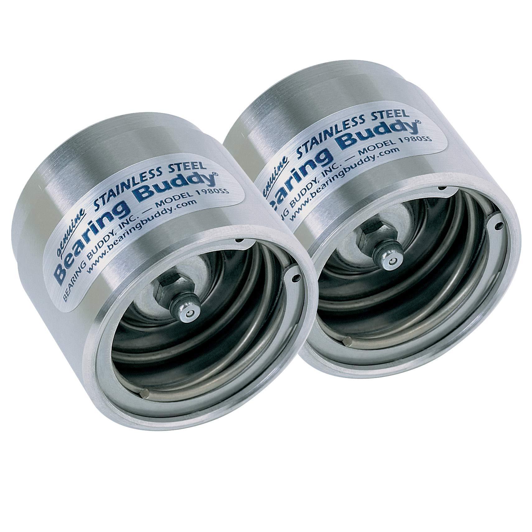 Bearing Buddy (43104) Stainless Steel Bearing Protectors (pair) - 2.328'' Diameter by Bearing Buddy