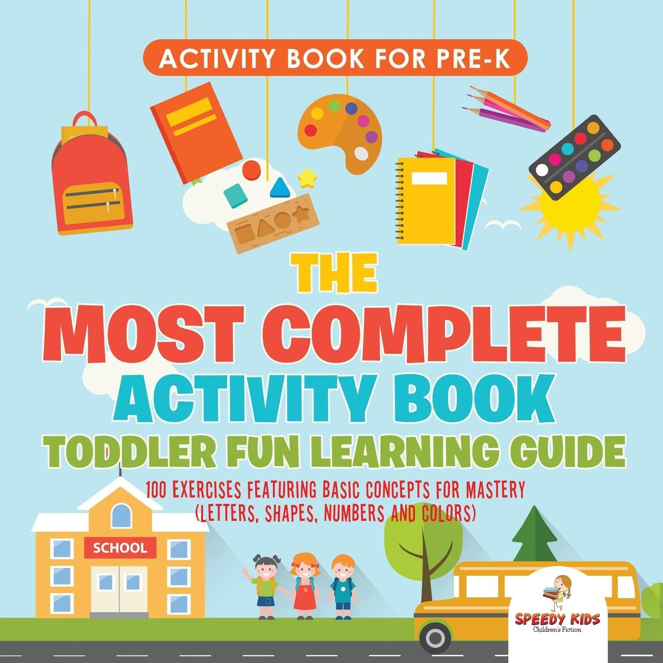 Activity Book for Prek. The Most Complete Activity Book ...