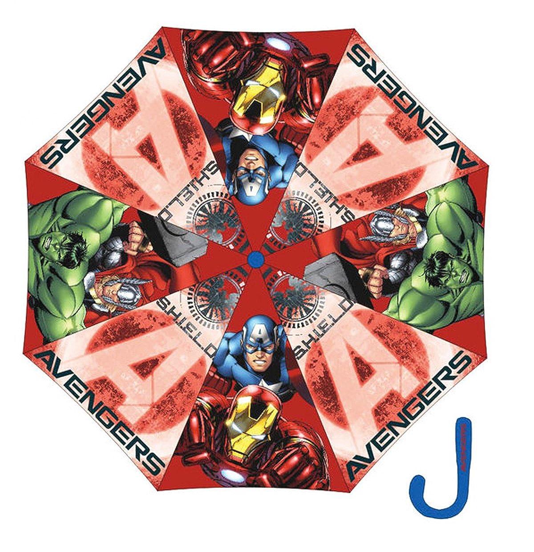 Avengers Parapluie enfant gar/çon Rouge diam/ètre 90cm