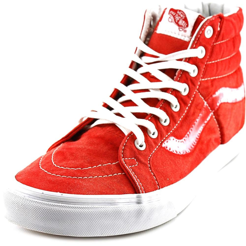 a823ea496c VANS Shoes - SK8-HI REISSUE CA - vintage sunfade true red  Amazon.co.uk   Shoes   Bags