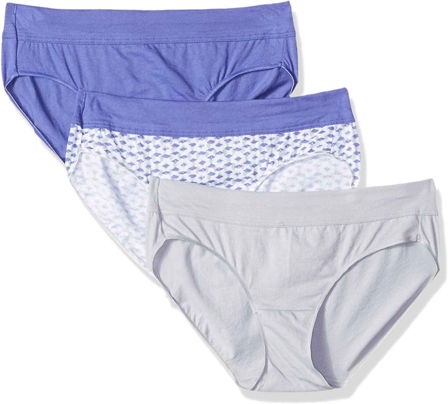 Hanes Women's Constant Comfort X-Temp Hipster Panty (Pack of 3)(Assorted Colors) at  Women's Clothing store