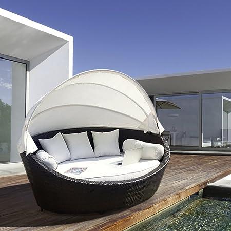 Luxurygarden Lujo Jardín Muebles de ratán Mimbre al Aire ...