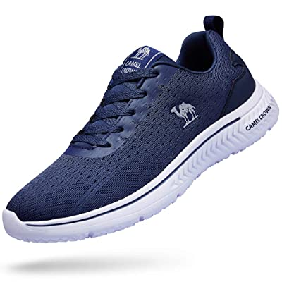 CAMEL CROWN Running Shoes Men Tennis Shoes Fashion Sneaker Lightweight Athletic Casual Sport Workout Walking Shoes | Road Running
