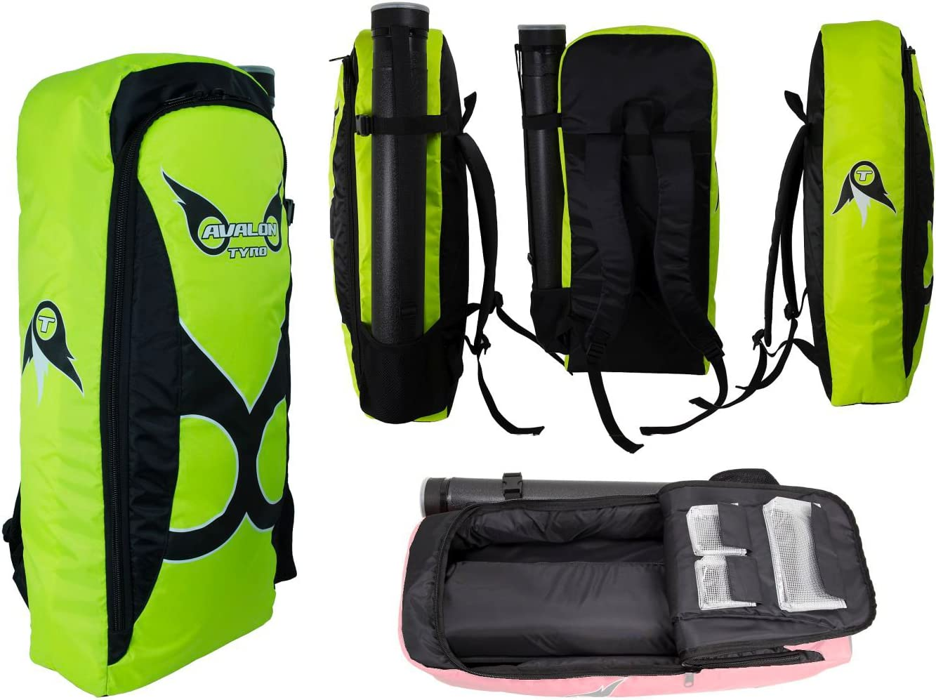 Avalon Archery Tyro W Take Down Recurve Bow Back Pack Carry Case Bag