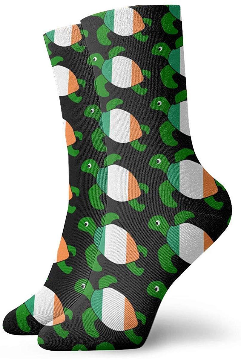 Calcetines personalizados de la bandera de Finlandia de la tortuga marina Medias coloridas y deportivas para hombres y mujeres: Amazon.es: Ropa y accesorios