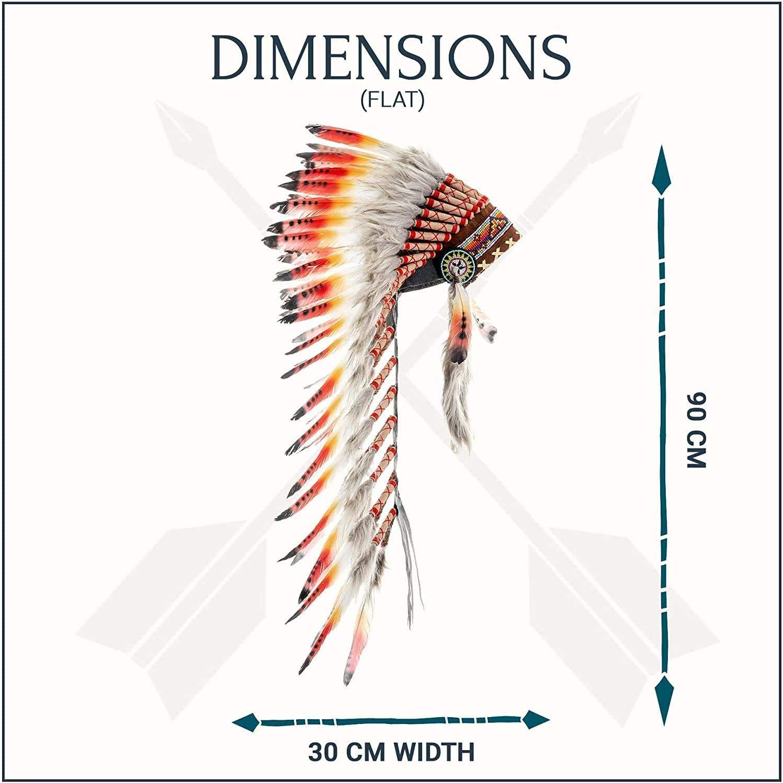KARMABCN Medium Feather Headdress