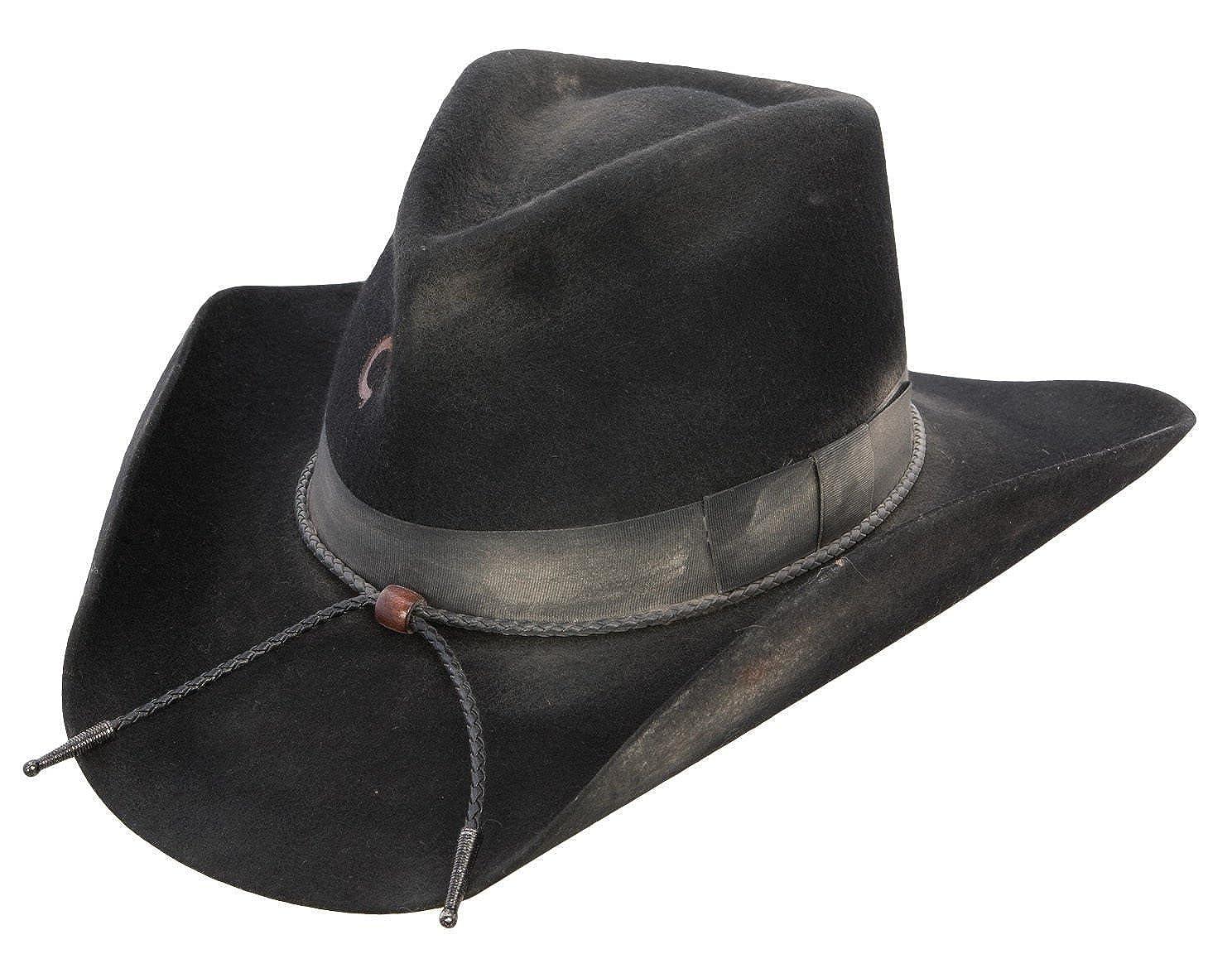 Amazon.com  Charlie 1 Horse Unisex Desperado 3X Wool Western Hat  Clothing a9e9e3f17