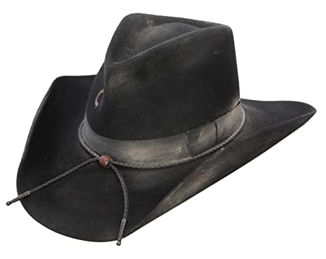 3a360891ea532 Amazon.com  Charlie 1 Horse Unisex Desperado 3X Wool Western Hat ...