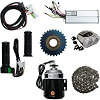 Geekay Pegaz DIY 48 V 550 Watt BLDC Electric Pedal Rickshaw Motor Kit with Gear Set (Multicolour)