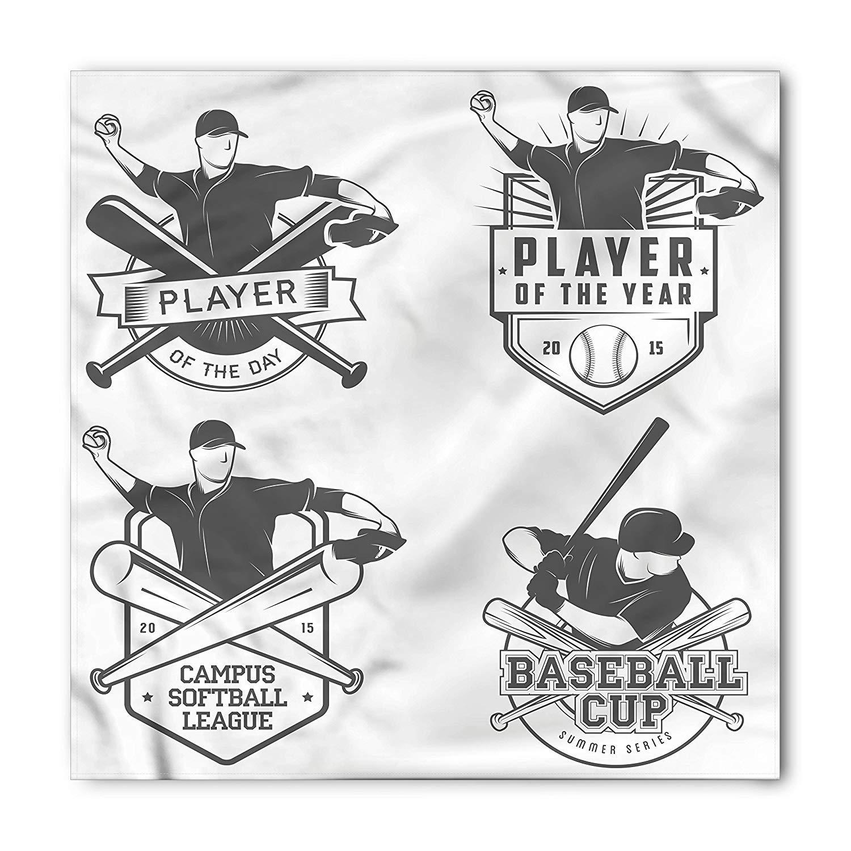 LULABE Sport Bandana Unisex Bandana Head and Neck Tie Neckerchief Headdress Silk-Like 100/% Polyester Skates and Gloves Board