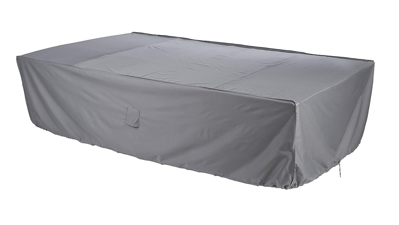 Gardman 35922 6-8 Seater Rectangular Patio Set Cover, Grey, 31 x 13 x 29 cm