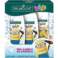 Shampoo e Condicionador para crianças Palmolive Kids Minions 350ml Promoção 2 Shampoos 350ml + 1 Condicionador 350ml com…