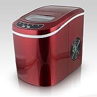 Machine à glaçons rouge - 12kg de glaçons en 24h Ice Maker Rouge