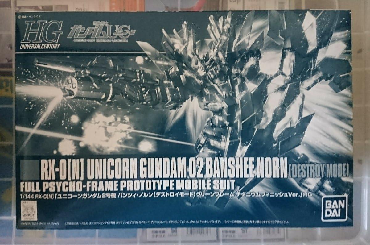BANDAI HGUC 1 144 Max 84% OFF Unicorn lowest price Gundam Unit Banshi~i-Norns Destroy 2