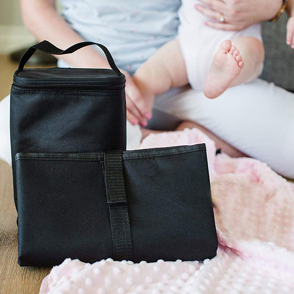 Portable Nappy Changing Mats Covers Diaper Pad,Newborns Foldable Waterproof Baby Diaper Changing Mat Portable Changing Pad for Home Travel Outside C, One Size