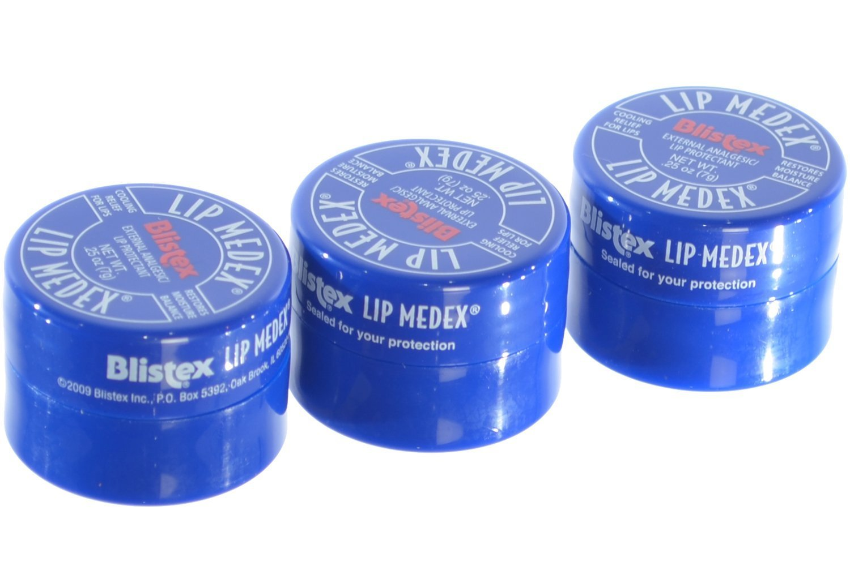 Blistex Lip Medex, 3 Count Everready First Aid