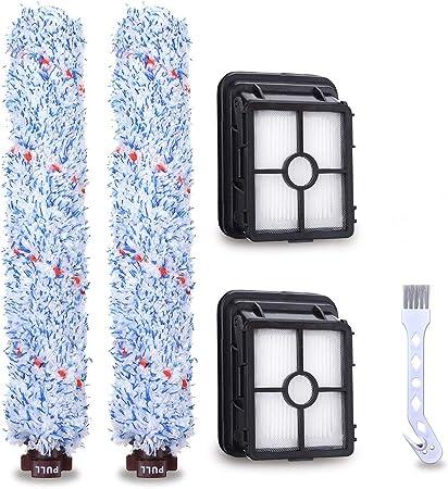 Accesorios para Bissell Crosswave cepillo de rodillo, Charminer filtro de repuesto para aspiradora Crosswave Bissell, rodillo de cepillo de limpieza compatible con Bissell 17132 y 2225N Series azul: Amazon.es: Hogar