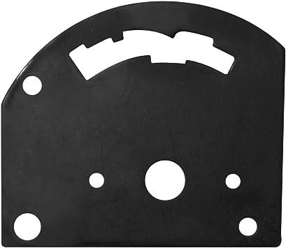 3-Speed B/&M automotive BM 80710Shifter Gate Plate Reverse Pattern Ste